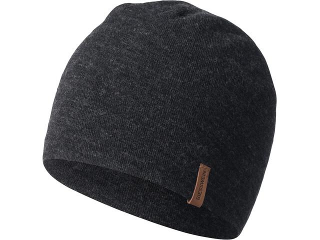 Giesswein Gehrenspitze Bonnet en maille tricotée, anthracite